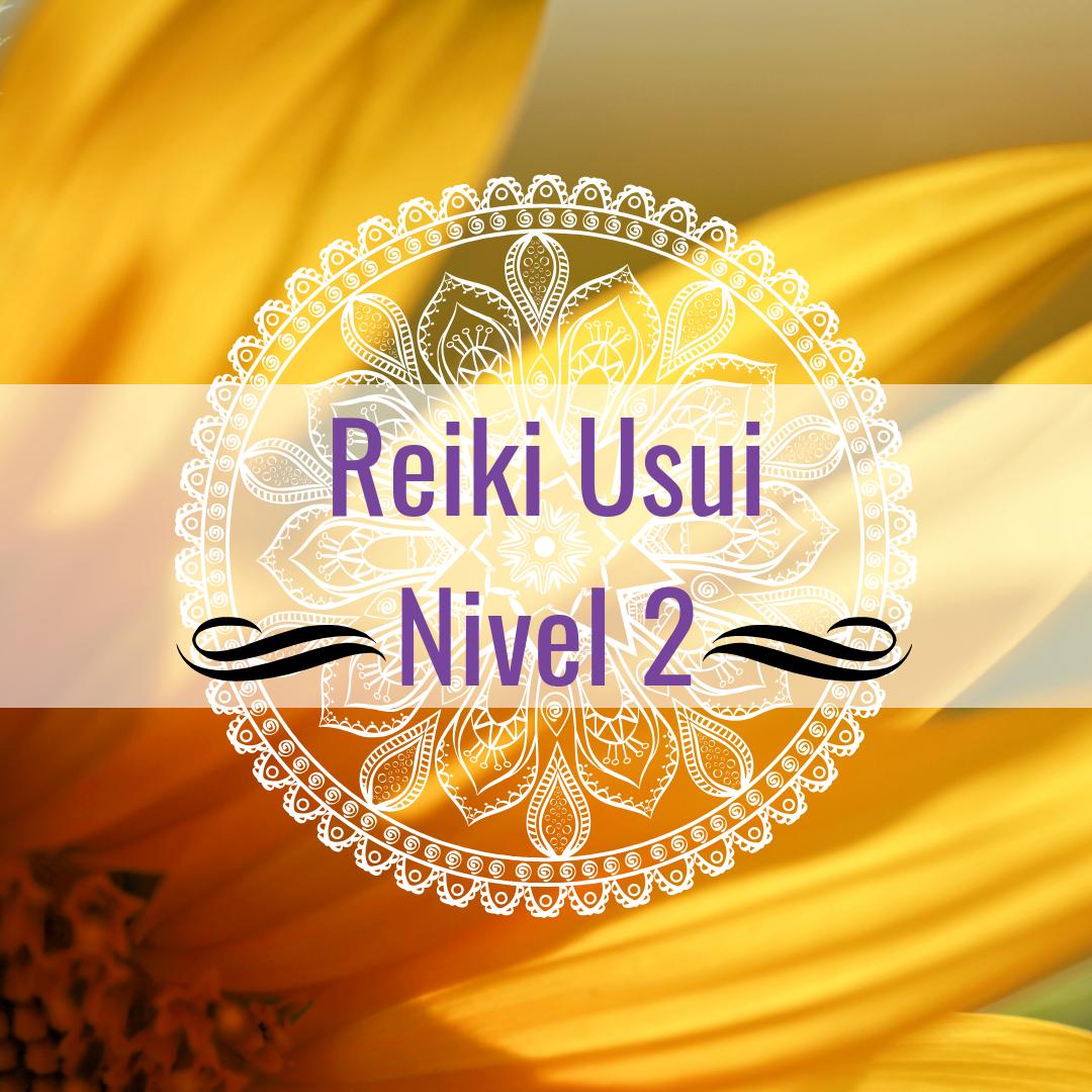 Curso: Reiki Usui Nivel 2 (presencial)