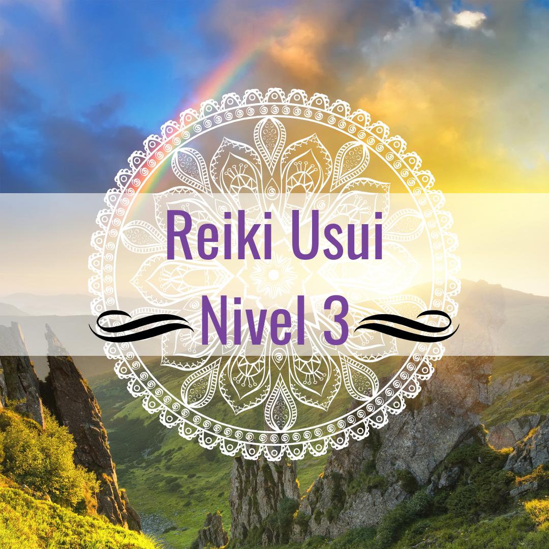 Curso: Reiki Usui Nivel 3 (presencial)